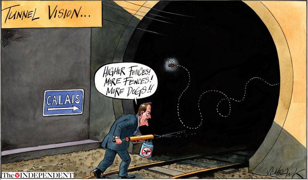 Mauern, zäune und barrieren in europa: calais ist keinseswegs ein ...